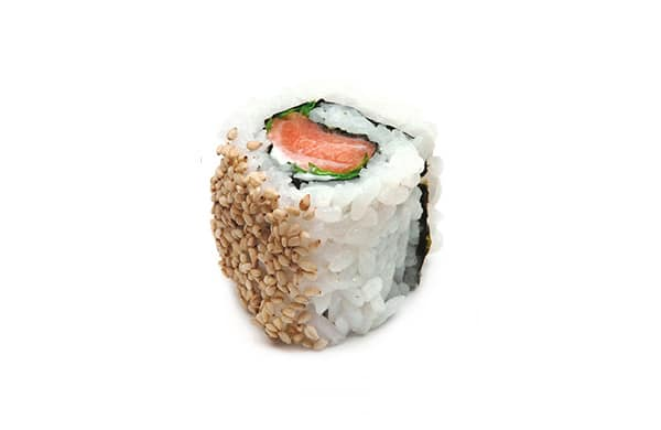 BENTO BOX Speisekarte - Lachs Rucola Inside Out